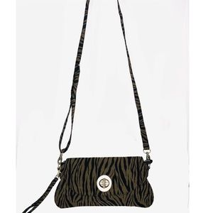 Bagdalin i Bags - Bagdalinni Animal Print Nylon Cross Body Mini Bag